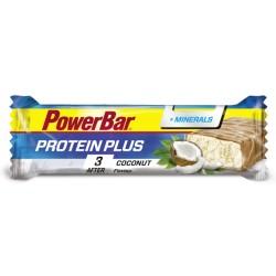 Barretta PowerBar Protein Plus + Minerals è una barretta proteica con aggiunta di minerali da consumare dopo l'attività fisica
