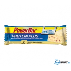 Barretta PowerBar Protein Plus 33% con il 33% di proteine da consumare dopo l'attività fisica