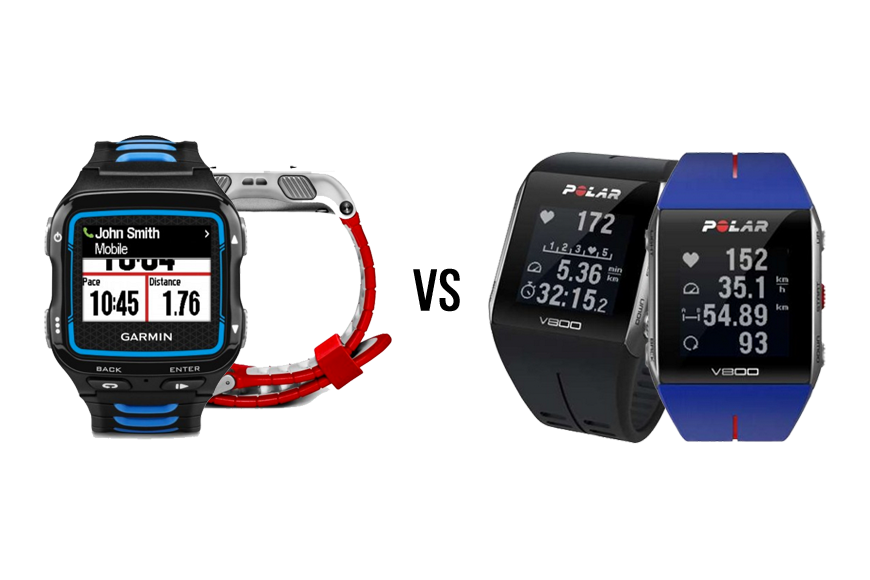 Polar V800 VS Garmin 920XT